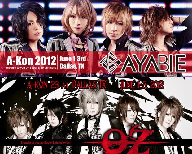 AYABIE and Oz at A-Kon 2012