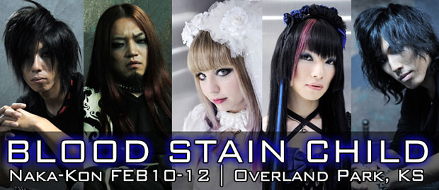 Blood Stain Child at Naka-Con 2012